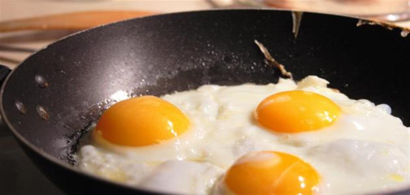 تفسير حلم البيض المقلي
