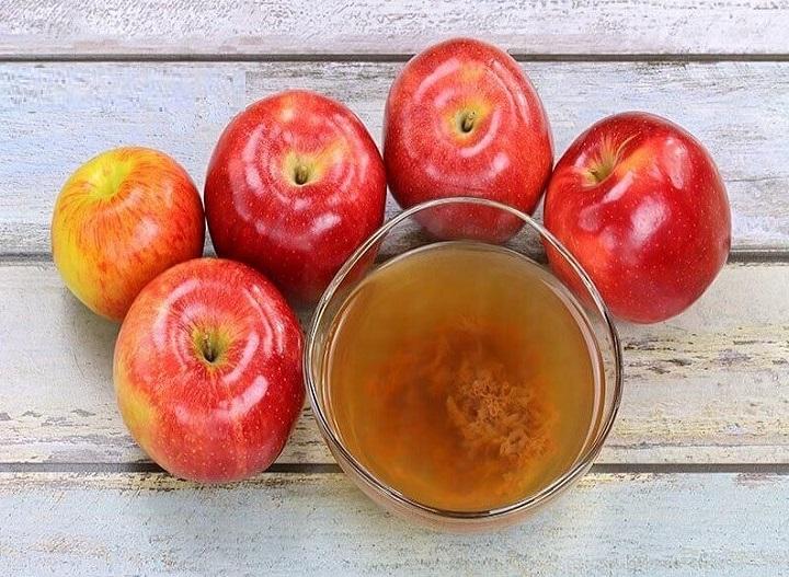 طريقة العمل لخل التفاح