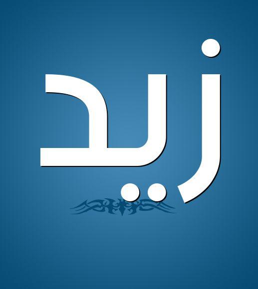 معنى اسم زيد في اللغة العربية
